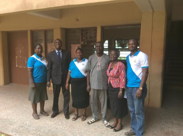 WOCON team with the officials of the Federal Ministry of Labour, Abeokuta, Ogun State