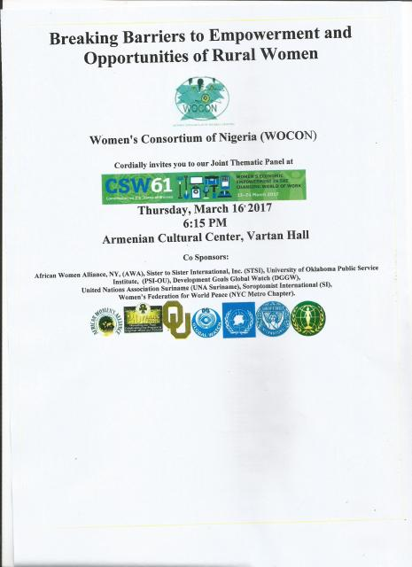 WOCON CSW 61 SIDE EVENT