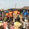Project Accountant, Kunle Adeogun and WOCON's Volunteer